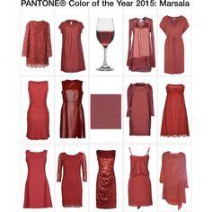 Marsala dresses