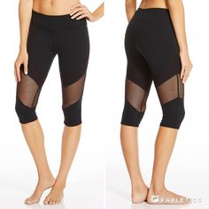 Cool down in the summer heat with the mesh-paneled Rhodes Crop / Fabletics
