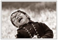 belly laughs are the BEST! I Love To Laugh, Happy Smile, Smile Face, Make You Smile, Happy Faces, Beautiful Smile, Beautiful Children, Precious Children, Funny Kids
