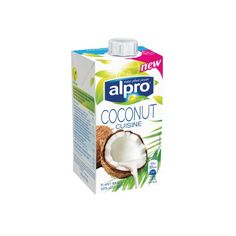 Alpro Coconut Cuisine - 250 ml Kokosnuss Kochcreme Gluten Free Recipes, Vegan Recipes, Shops, Going Vegan, Plant Based, Dairy Free, Coconut, Vegetarian, Nutrition