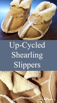 <p>If you have ever had a pair of REAL shearling/sheepskin slippers, then you know the true heaven that your feet feel! 'Ask any Uggs owner. There is absolutely no substitute! When I see an old Sheepskin coat go to waste,…</p>