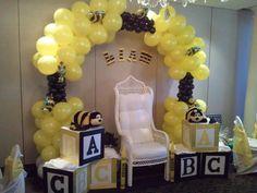 balloons- bumble bee