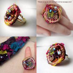 222****fancypicnic- fabric ring