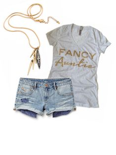"Exclusive Fancy Triblend Deep V-Neck Tee at 1108 Boutique. Wear it with a pair of skinnies and a pair of converse or a pair of distressed jeans, heels and jewels for a night on the town. No matter what you decide to wear it with you're a ""FANCY""!!!! Customize with Fancy Auntie, Sister, Preggo, Momma, Glam Ma, Birthday Girl, Wifey or Mamacita."