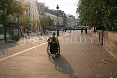 The setting sun in Paris wheelchair;woman;female;deborah-davis;france;paris;europe;disabled;disability;access;accessible-tourism;inclusive-tourism;europe