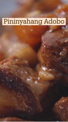 Pork Recipes, Asian Recipes, Snack Recipes, Dinner Recipes, Cooking Recipes, Comida Filipina, Tastemade Recipes, Special Recipes, Food Cravings