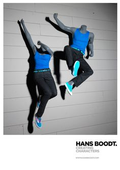 Mannequins | Jumping Energy by Hans Boodt