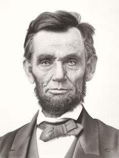 Abraham Lincoln | Pencil drawing