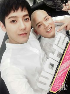 Minhyuk with peniel #borntobeat #BTOB #비투비
