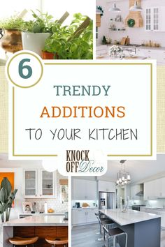 We all know that the kitchen is the core of every home, where you and your family spend a lot of time eating, cooking, or washing the dishes.But did you know that your kitchen is the one place that controls your lifestyle? If you're considering adding a few retouches to your kitchen to be trendy and healthy, read on for 6 additions that are game-changers.