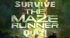 The Impossible MAZE RUNNER Quiz is here! #ImpossibleTMRquiz