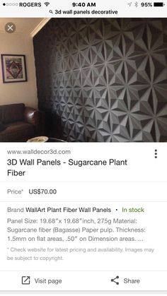 Great for a feature wall