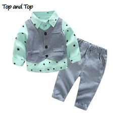 a770c7706a5 Top and Top Autumn Fashion infant clothing Baby Suit Baby Boys Clothes  Gentleman Bow Tie Rompers