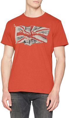 Pepe T-Shirt  Bekleidung, Herren, Tops, T-Shirts & Hemden, T-Shirts Pepe Jeans, Flag Logo, Herren T Shirt, Mens Tops, Fashion, Button Up Shirts, Summer, Clothing, Moda