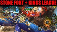 Stone Fort Hard | Taichi Panda Heroes + King's League (No Final)