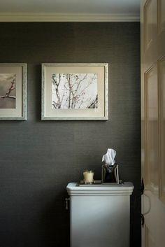 Black & White Soho Hemp a Grasscloth 5281 Phillip