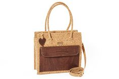 Cork Bag PARIS Calçada Portuguesa Wood