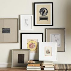 article that lists a bunch of different places to buy frames for a gallery wall