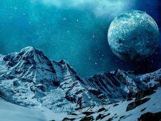 Snow, Mountain, Winter, Nature, Sky, Landscape, Cold