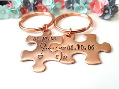 Anniversary Gifts for Boyfriend, Couple Keychains, Personalized Keychains, 1 Year Anniversary Surprise Gifts For Him, Gifts For Hubby, Birthday Gift For Him, Unique Birthday Gifts, Birthday Presents, Copper Anniversary Gifts, Anniversary Gifts For Couples, Boyfriend Anniversary Gifts, Boyfriend Gifts