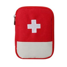 Bathroom Organization: Portable First AID Pouch Pill Bags Medicine Storage…
