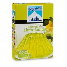 Gelatina sabor a Lima-Limão Branca de Neve