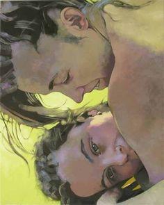 Hanjo Schmidt  Friday Afternoon V, 120 x 100 cm, acrylic on canvas