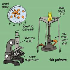 biology jokes Medical Laboratory and Biomedical Science: Tools of Microbiology Biology Jokes, Chemistry Jokes, Ap Biology, General Biology, Lab Humor, Medical Laboratory Science, Biomedical Science, Laboratory Humor, Forensic Science