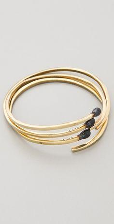 Matchstick bracelet.