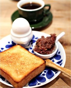 "Japanese Cafe Breakfast ""MORNING SET"" !"
