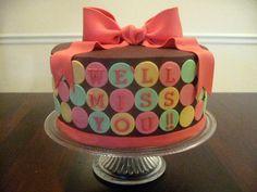 Cute Farewell cake!