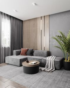 Living Room Tv Unit Designs, Living Room Sofa Design, Home Room Design, Home Living Room, Home Interior Design, Living Room Decor, House Rooms, Luxury Interior, Villa