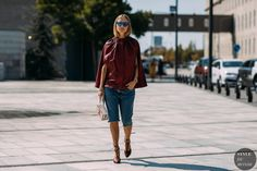 The Best Street Style From Copenhagen Fashion Week Spring Acielle is photographing the most stylish Danes and out-of-towners at Copenhagen Fashion Week. Street Chic, Cool Street Fashion, Street Wear, Street Style Summer, Street Style Women, Street Styles, Copenhagen Street Style, Copenhagen Fashion Week, Stockholm