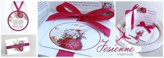 Zaproszenia i dodatki ślubne z malowanymi kwiatami