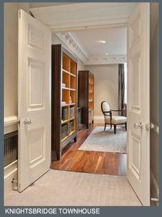 Luxury London property - Knightsbridge Townhouse from Rigby & Rigby.