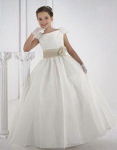 Image result for vestidos para primera comunion BLANCOS