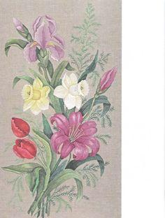 Gallery.ru / Фото #90 - Живописная вышивка гладью. Цветы и плоды - Vladikana