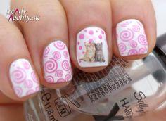 nail art, cats