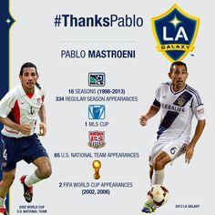LA Galaxy midfielder Pablo Mastroeni to retire | LA Galaxy