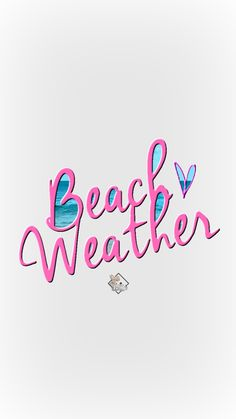Beach Weather Phone Wallpaper I Lisa Lisica ©.