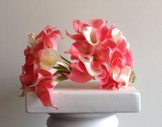 artificial calla lily bouquets