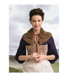 Outlander Garment Knit Kit-Awakened Witch Trial Capelet