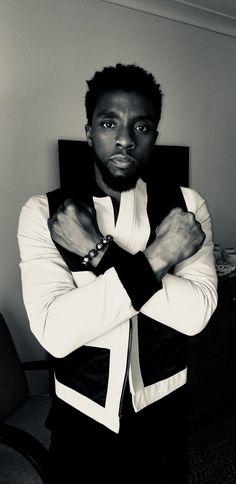 Wakanda Forever!!  Chadwick Boseman, star of #BlackPanther
