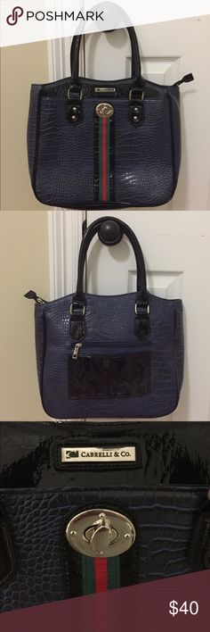 NWOT Cabrelli & Co Laptop Bag/Tote NWOT Cabrelli & Co Laptop Bag/Tote. Received as a gift & never used. Super cute! Not too big or small. Cabrelli & Co.  Bags Laptop Bags