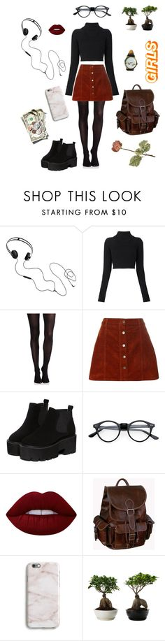 """""""Untitled #16"""" by gesselledelgado ❤ liked on Polyvore featuring AIAIAI, Balmain, SPANX, Dorothy Perkins, Lime Crime, AmeriLeather, StreetStyle, Winter, grunge and casualoutfit"""