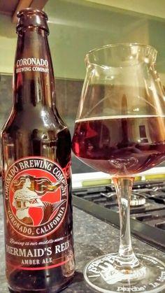 Coronado Mermaids Red Amber Ale. Watch the video beer review here…