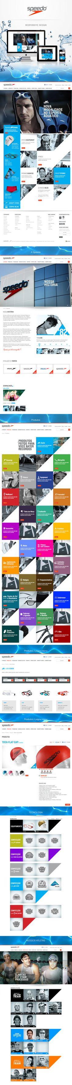 Conheçam meu mais novo trabalho para a Speedo Brasil - Reformulação do site. Visitem a minha página: http://www.behance.net/gallery/Speedo-new-site-from-Brazil/11013169