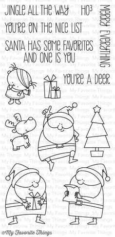 BB Jingle All the Way              My Favorite Things stamps                 $17.99