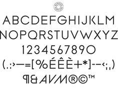 BYREDO - Customized identity typeface - Art Direction/Moses Voigt