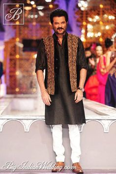 Anil Kapoor for Raghavendra Rathore at India Bridal Week 2013